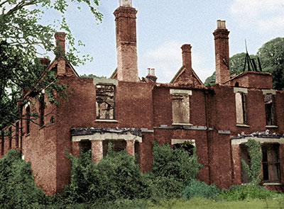 Après l'incendie du Presbytère de Borley