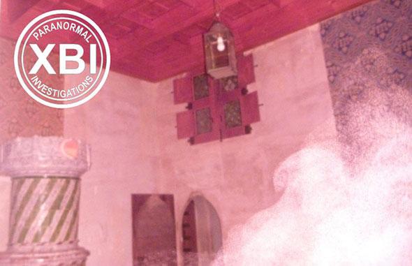 Dans une pièce du Château de Chillon en 2014