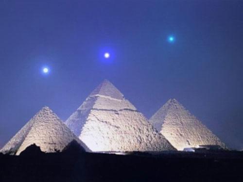 Alignement des pyramides