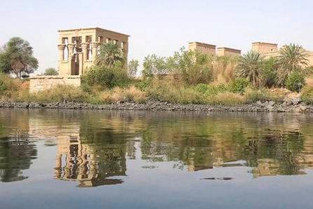 Temples au bord du Nil