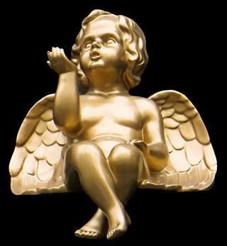Statuette d'un ange
