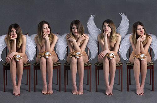 La création des anges