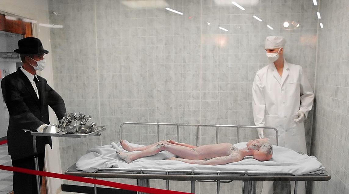 Autopsie d'un extraterrestre