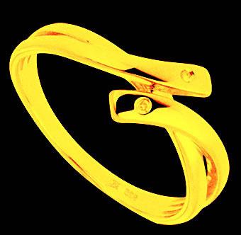 Bague magique en forme de serpent