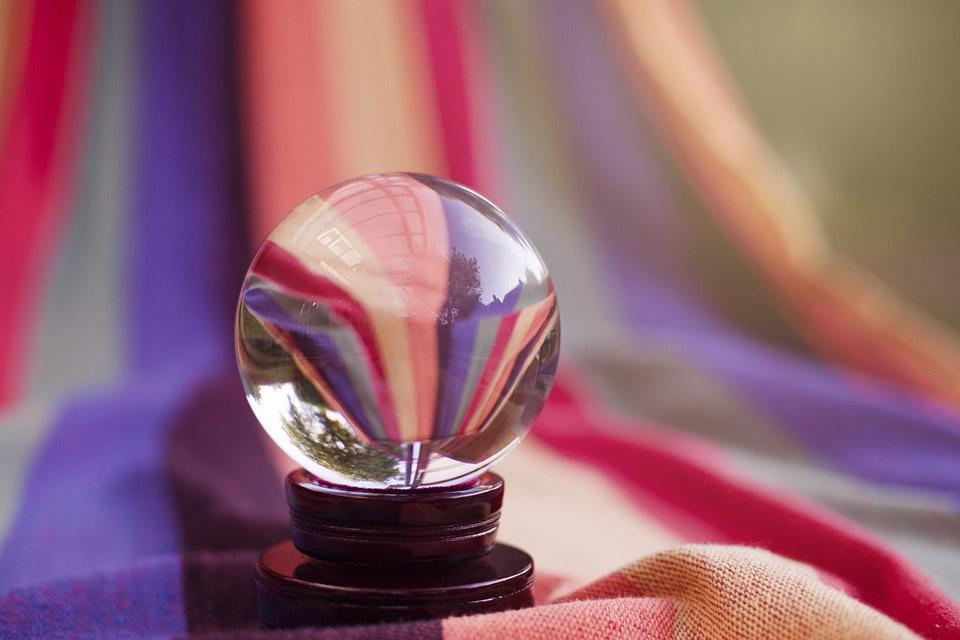 Boule de cristal de voyant