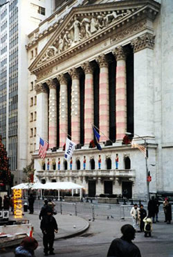 Bourse de New-York en 2001