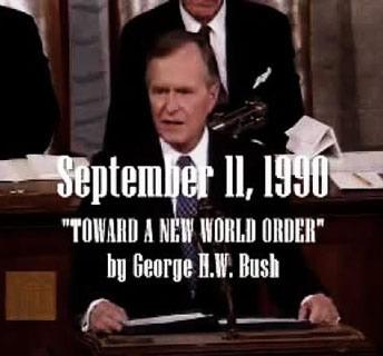 Bush Nouvel ordre mondial