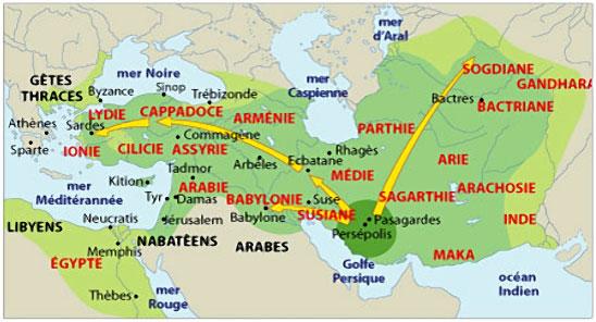 Les conquêtes Perses