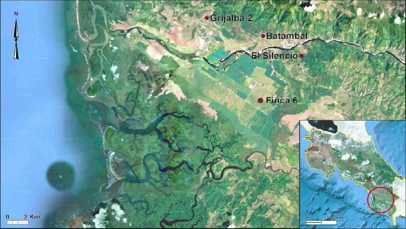 Les principaux sites archéologiques du Costa Rica