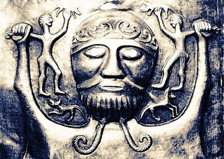 Le dieu Dagda
