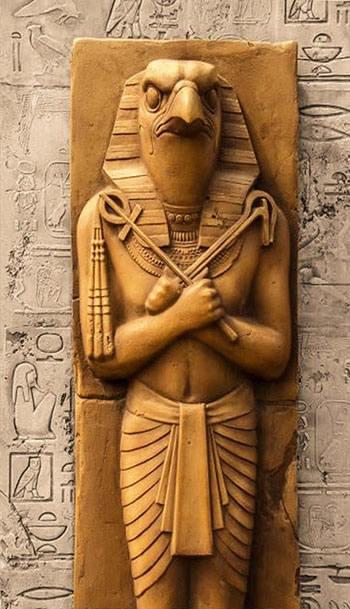 Image de Thoutmôsis IV et le Sphinx