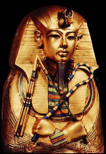 Osiris avec le fléau et la crosse