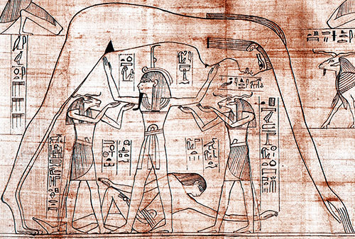 Divinités cosmiques Egyptiennes