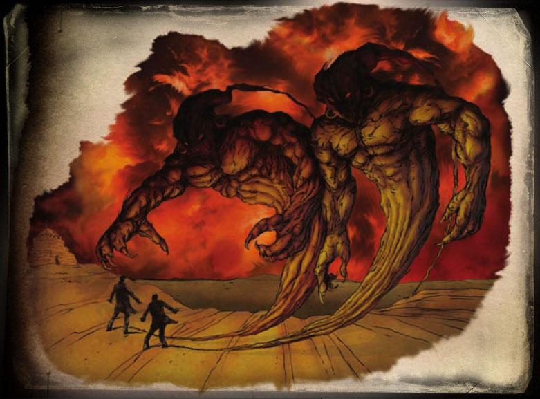 Image de Les djinns et les génies, démons de la magie arabe partie 4