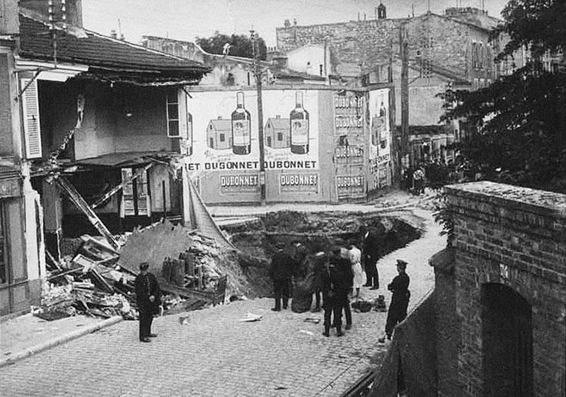 Effondrement à Malakoff 1929