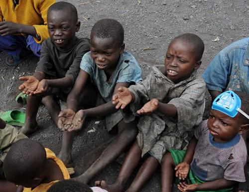 Enfants au Congo