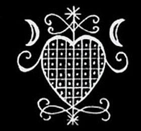 Symbole d'Erzulie