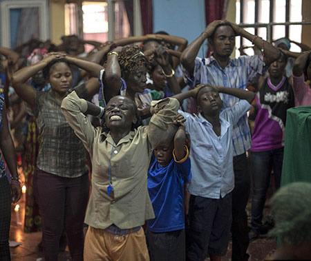 Exorcisme des enfants du Congo