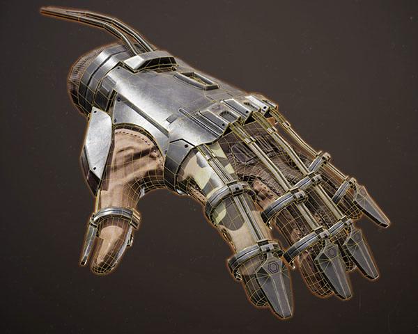 Exosquelette de main