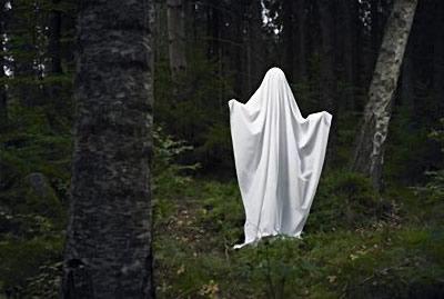 Fantôme dans les bois