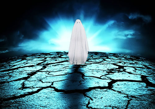 Fantôme errant sur terre