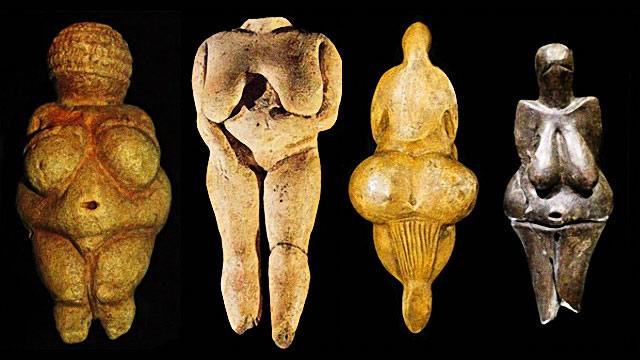 Figurines préhistoriques de Vénus