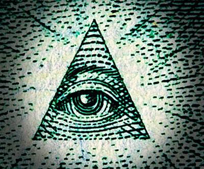Illuminati Signification le billet de un dollar est l'oeuvre des illuminati, c'est dramatic