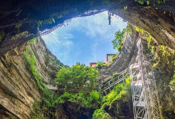 Les grottes sacrées