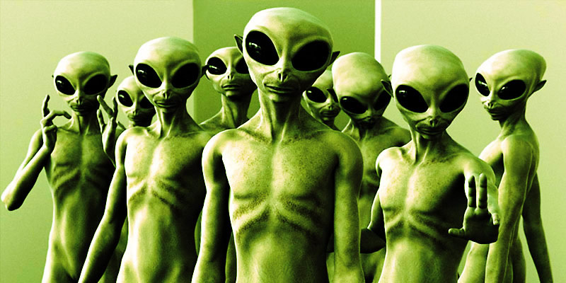 Groupe d'extraterrestres