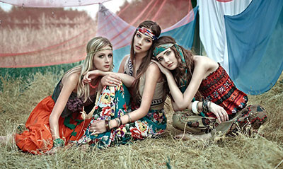 La mouvance hippy