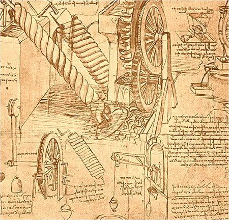 Inventions de Léonard de Vinci