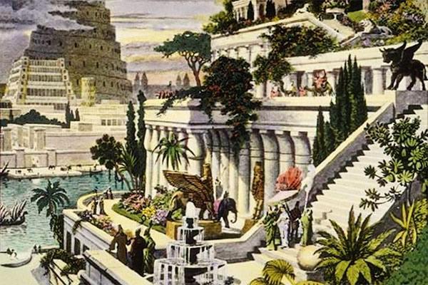 Jardins suspendus de Babylon