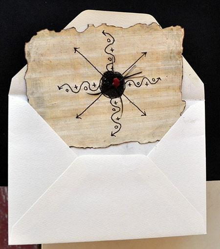 Image de Méfiez-vous des lettres écrites sur papier de couleur