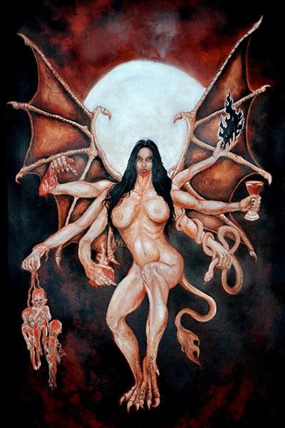 Lilith, Reine de la nuit