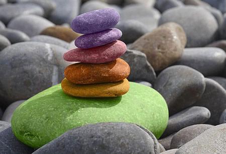 La magie avec des pierres