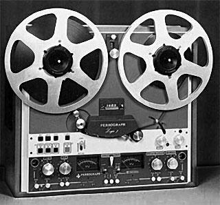 Magnétophone utilisé en transcommunication instrumentale