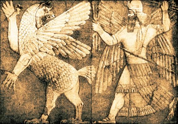 Bataille de Marduk contre Tiamat