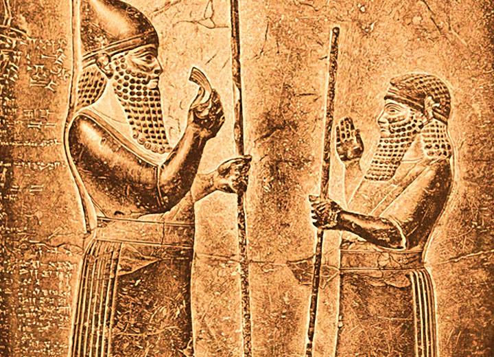 Marduk, dieu tutélaire de Babylone