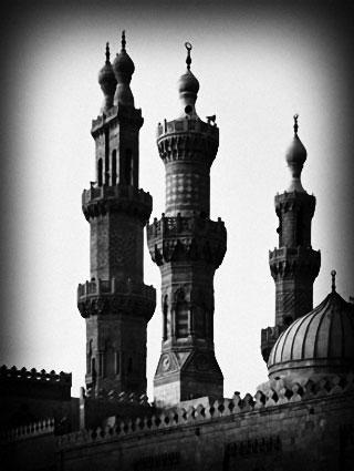 Minarets des mosquées - Le Caire