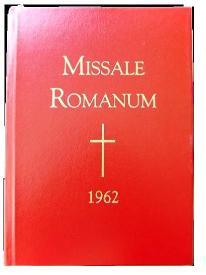 Missel Romain 1962
