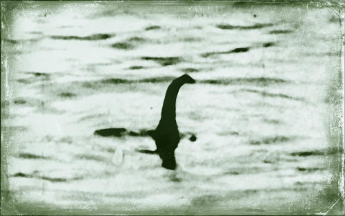 Photo du Monstre du Loch Ness