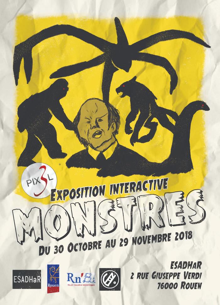 Exposition de Rouen sur les monstres