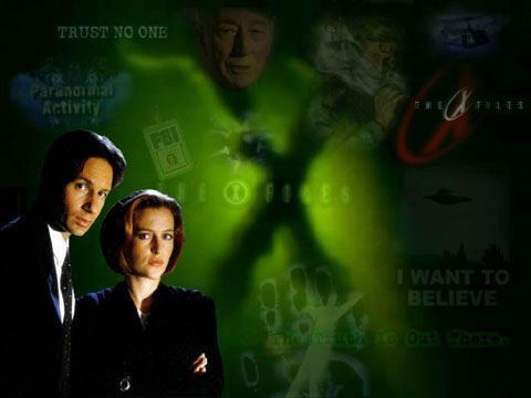 X-files Mulder et Scully