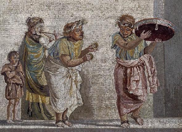 Musiciens voués au culte de Cybèle
