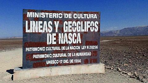 Nazca patrimoine de l'UNESCO