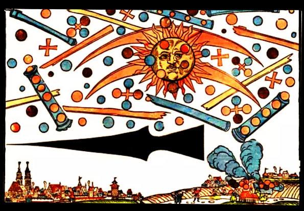 Observations au dessus de Nuremberg