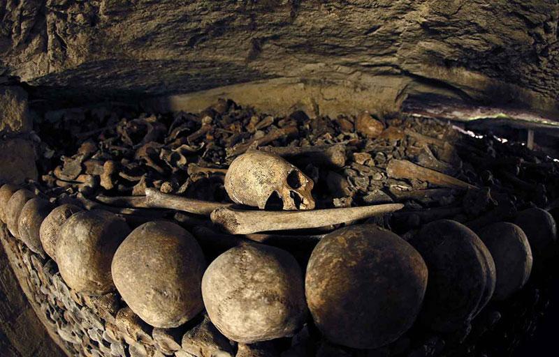L'ossuaire des Catacombes