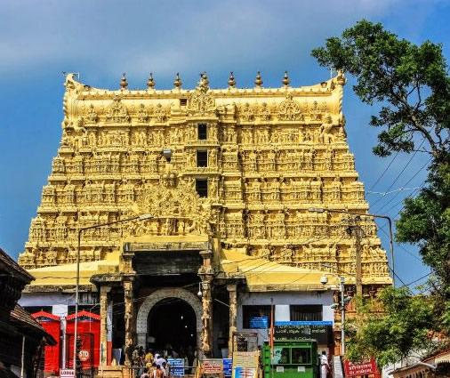 Temple Sree Padmanabhaswamy à Kerala