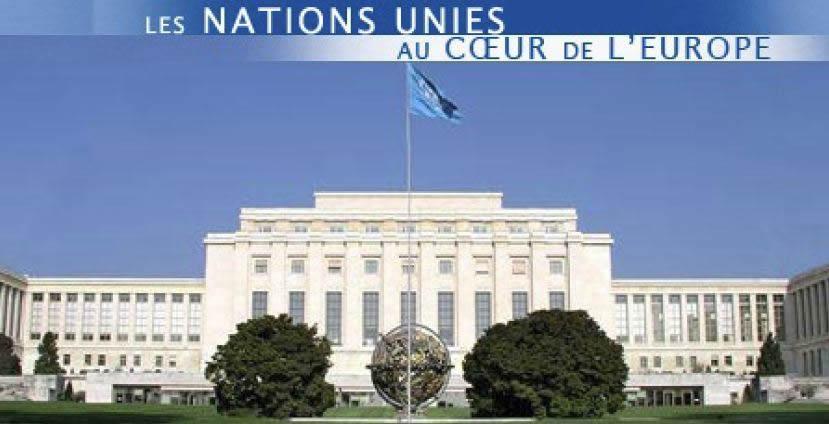 Palais des Nations à Genève