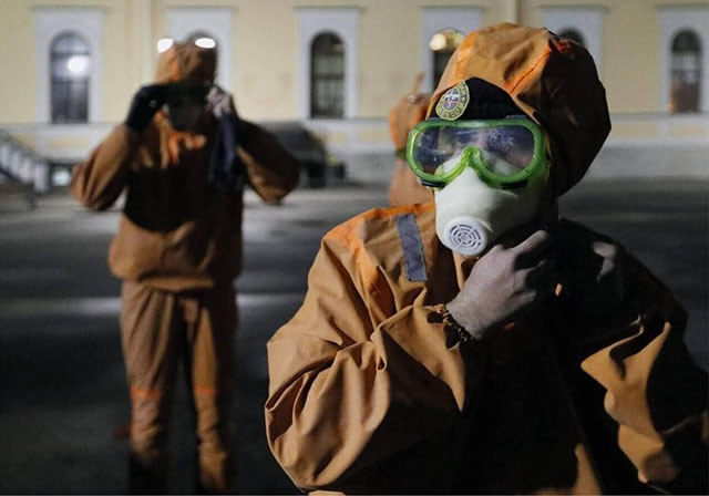 Pandémie mondiale de coronavirus